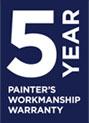 painters workmanship warranty